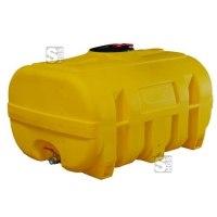 Vielzweckfass aus PE, 600 - 2000 Liter, gelb, kofferförmig