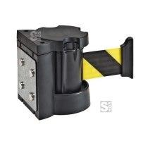 Wandgurtkassette -Willi- aus ABS-Kunststoff, Gurtlänge 3 oder 4 m, Wandmontage oder magnetisch