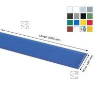Wandschutz -Defend 100- aus HDPE, Länge 2060 mm, Höhe 100 mm, zum Ankleben, verschiedene Farben