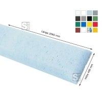 Wandschutz -Defend 400- aus HDPE, Länge 2060 mm, Höhe 400 mm, zum Anschrauben