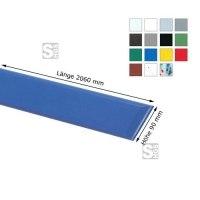 Wandschutz -Defend 90- aus HDPE, Länge 2060 mm, Höhe 90 mm, zum Ankleben, verschiedene Farben