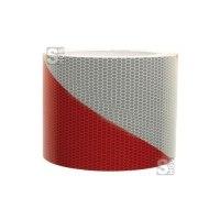 Warnmarkierung für Fahrzeuge, Flex-Folie, nach DIN 30710, Einzelrolle 141 mm x 45,7 m, für Rundungen und Kanten geeignet
