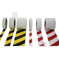 Warnmarkierungsband -Vertical-Safety-, Rolle 25 m, für vertikale Flächen im Innen- und Außenbereich