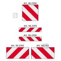 Warntafeln für überbreite und überlange Fahrzeuge nach DIN 11030