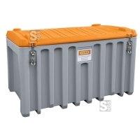 Werkzeugbox -CEMbox- aus PE - mit Staplertaschen, 250, 400 oder 750 Liter