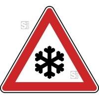 Winterschild StVO, Schnee- oder Eisglätte Nr. 101-51