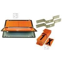 Zifferntafel für Tankfahrzeuge, klappbar, Komplett-Satz gem. ADR und GGVS